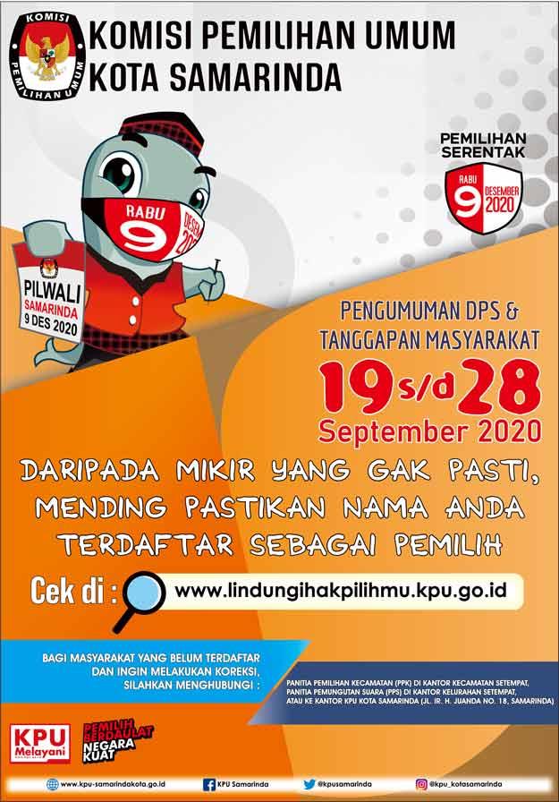 Iklan  KPU Samarinda