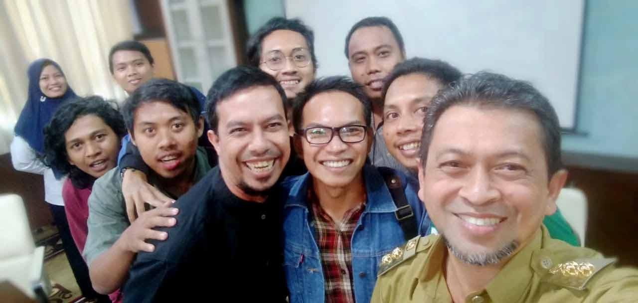Wagub, Hadi Mulyadi Apresisi Semangat Pekerja Media Online Kaltim