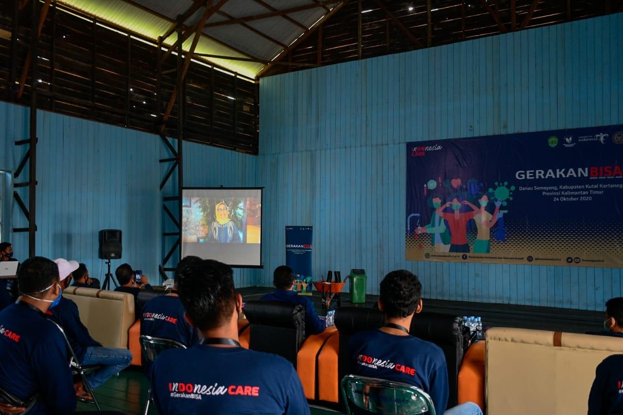 Hetifah Sjaifudian Bersama Kementerian Pariwisata RI Gelar Gerakan BISA di Desa Pela
