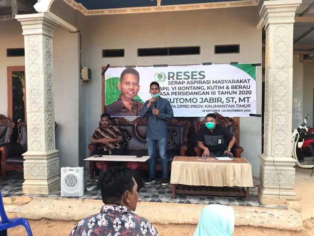 Sutomo Jabir Gelar Reses di Kecamatan Sangata Selatan