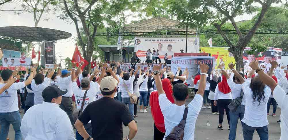 Dukung Jokowi-Amin Relawan ini Gunakan Dana Gotong Royong