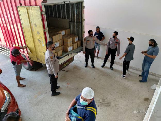Surat Suara Milik KPU Tiba di Samarinda