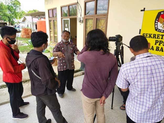 Kades Batuah Apresiasi Bimbingan PPL di Desa Batuah, Agus Priyono.