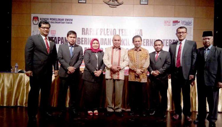 Isran Noor dan Hadi Mulyadi Akirnya Ditetapkan Sebagai Gubernur dan Wakil Gubernur Terpilih