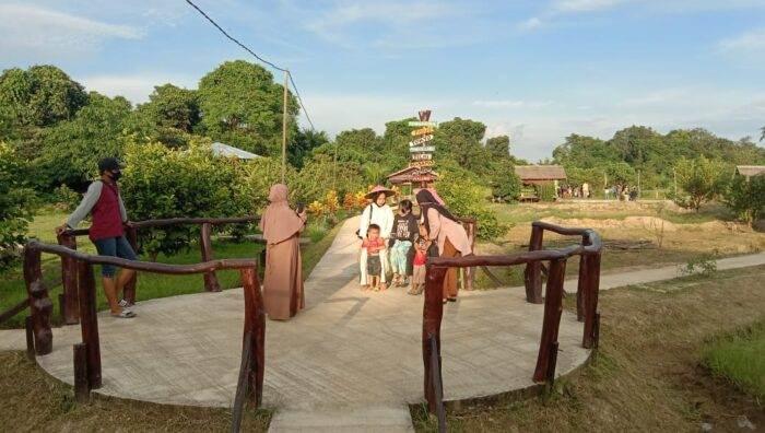 Kelurahan Loa Ipuh Darat Kukar Perkenalkan Objek Wisata Kembang Jaong
