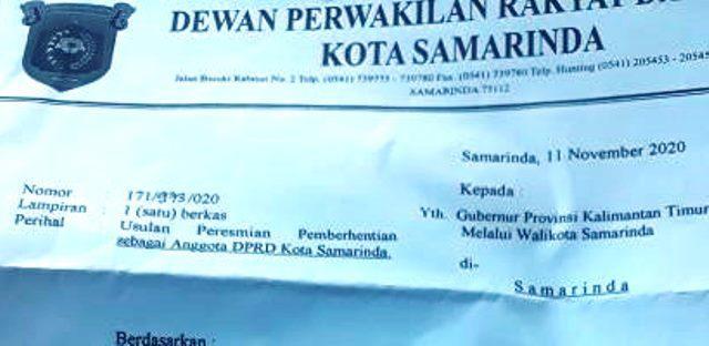 DPRD Samarinda : Surat Resmi Pemberhentian Siswadi Belum di Buat Pemprov Kaltim