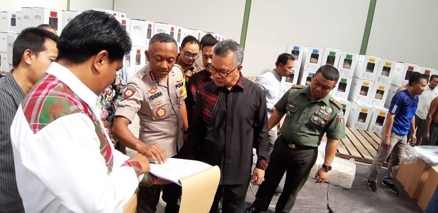 600 Personil Gabungan Siap Amankan TPS Samarinda
