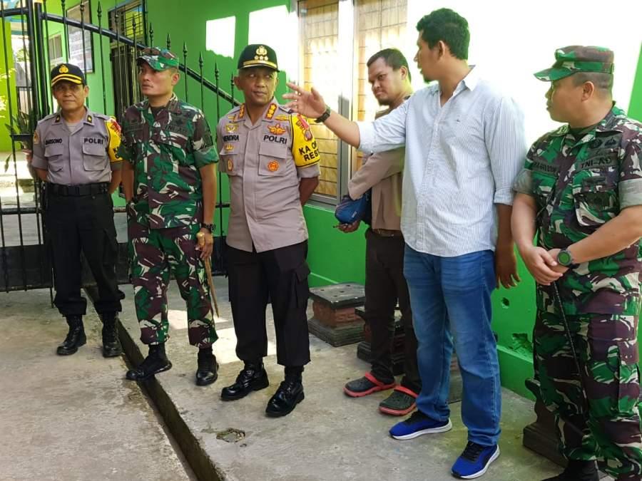 Hari H Pencoblosan Kapolresta Samarinda, Milih Blusukan ke TPS