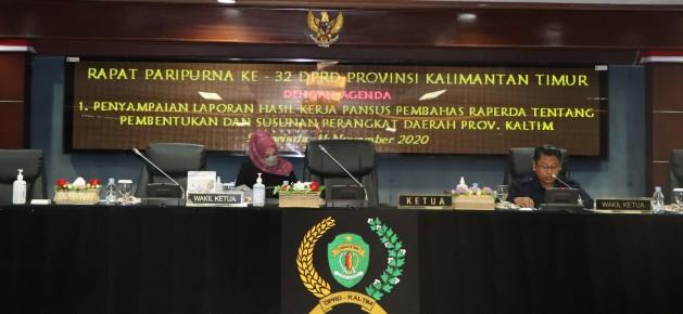 Pembahasan Dua Raperda di DPRD Kaltim, Resmi Diperpanjang