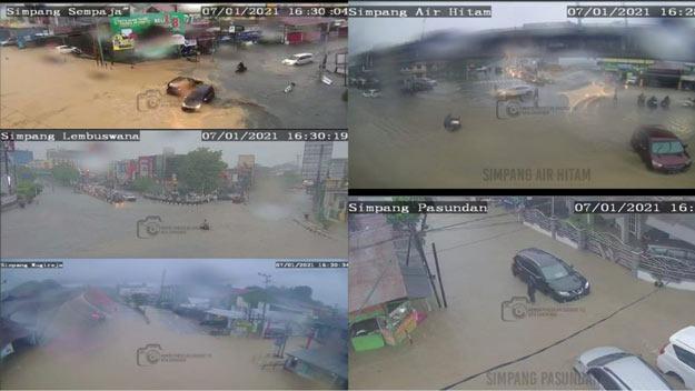 Curah Hujan Tinggi, Samarinda Diterjang Banjir