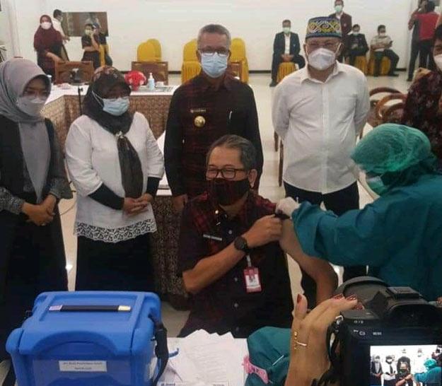 Hari Ini Pemkot Samarinda Gelar Vaksinasi Perdana