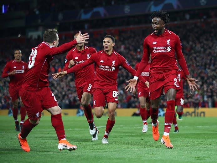 Bantai Barcelona  dengan Skor 4-0, Liverpool Melaju Ke Final Liga Champions