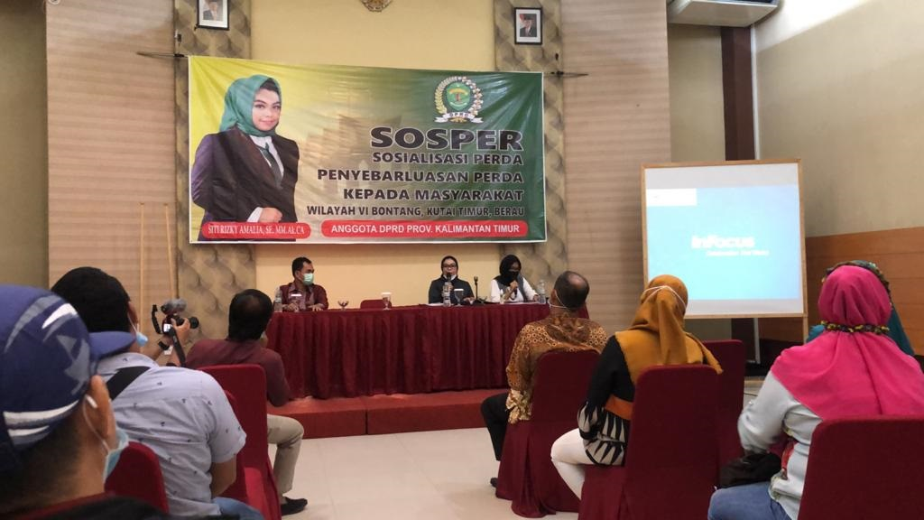 Minim Informasi Regulasi Pajak, Siti Rizky Amelia Gelar Soper di Berau