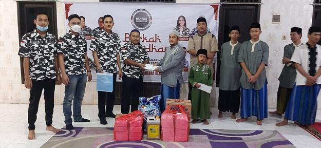 Maknai Ramadan, DPD Bapera Samarinda Santuni Anak Yatim
