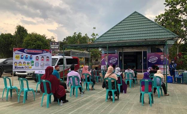 Irwan Fecho Peduli, Turunkan Relawan Gelar Tes Antigen Gratis