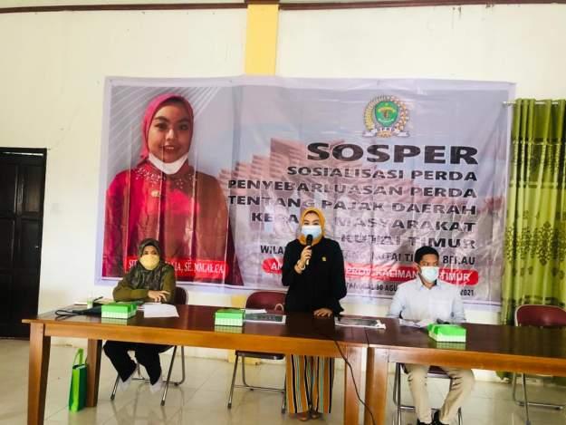 Siti Rizky Amalia: Kesadaran Mayarakat Akan Pajak Masih Kurang