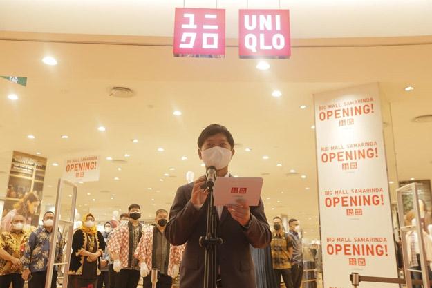 Hari ini Uniqlo Big Mall Samarinda Resmi Beroperasi