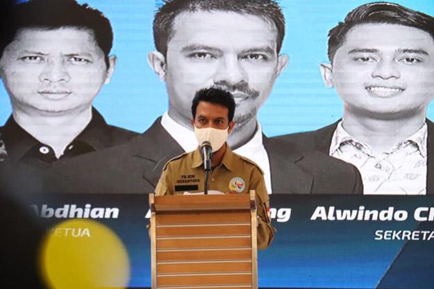 Arief Kaseng Resmi Nahkodai KIM Kaltim