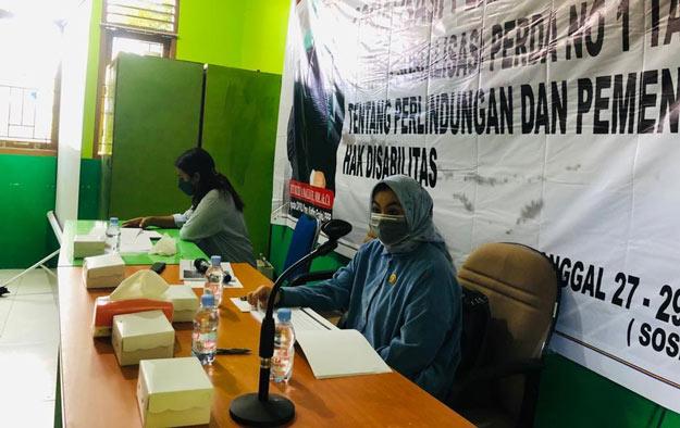 Siti Rizky Amalia Gelar Sosper Pemenuhan Disabilitas di Sangata