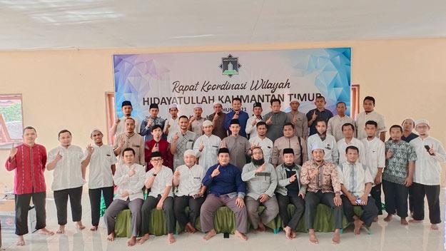 Rakor DPW Hidayatullah Kaltim Resmi Dibuka