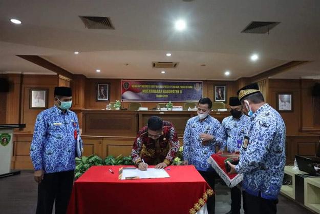 Plt Sekda Muliadi Jabat Ketua Korpri Periode 2021 -2026