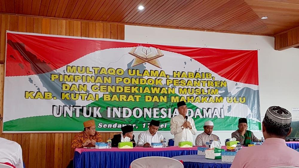 Multaqo Ulama ingatkan Pentingnya Persatuan dan keselamatan Bangsa