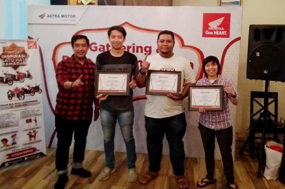 Menang Karya Tulis, Astra Motor Samarinda Kirim Wartawan Liburan Ke Bali