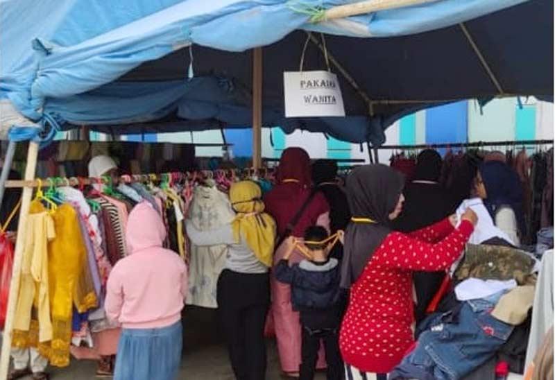 Alhamdulillah, Ribuan Pakaian Layak untuk Warga Kurang Mampu Dibagikan PKBI Kaltim