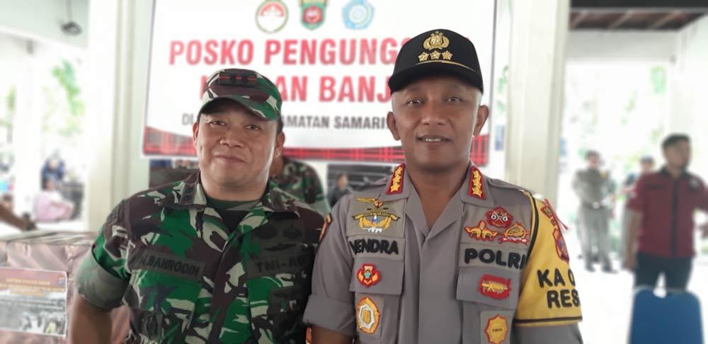 Sekot Samarinda Apresiasi Kinerja dan bantuan Polri dan TNI
