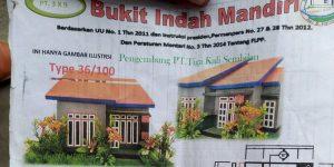 Proyek Rumah Yang Diresmikan Jaang Tak Kunjung Jadi