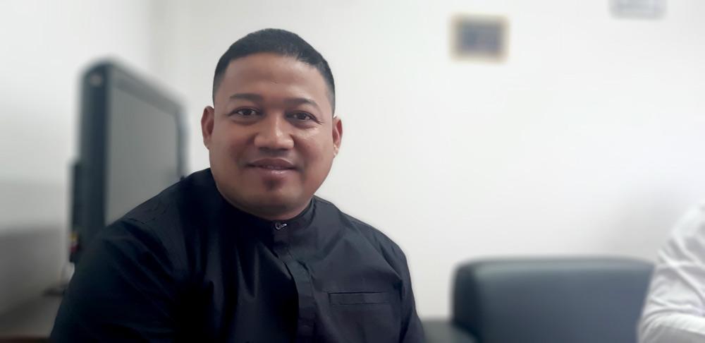 Fuad Faharuddin Siap Berjuang Habis-habisan Untuk Bangun Jalan dilokasi Ini