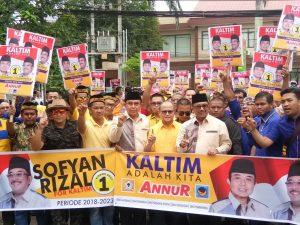 BREAKING NEWS: Sofyah Hasdem - Rizal Efendi akhirnya mendaftar Di KPU Kaltim
