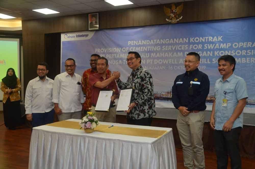 PHM dan Elnusa Bersinergi untuk Jasa Cementing Sumur di Wilayah Rawa