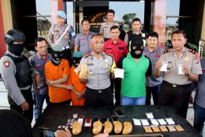 Sabu 4,6 KG diamankan Polresta Samarinda