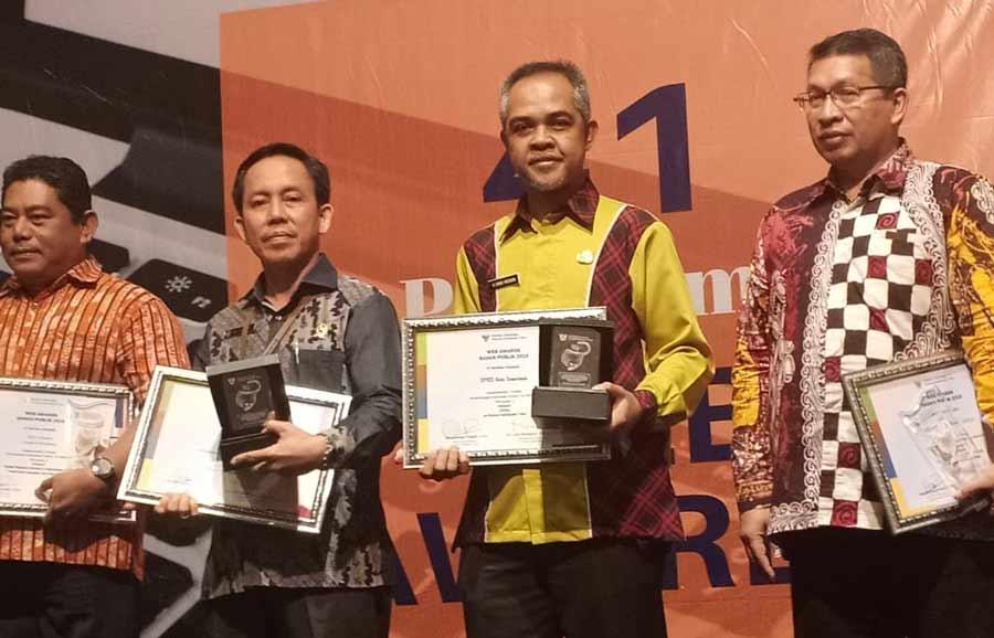 Website DPRD Samarinda Raih Peringkat Ke 2 Terbaik, Tingkat DPRD Se Kaltim