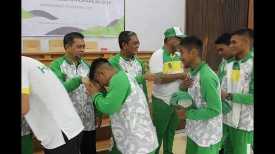 Kontingen Kaltim Bertolak ke Jakarta, Ikuti Ajang Popnas