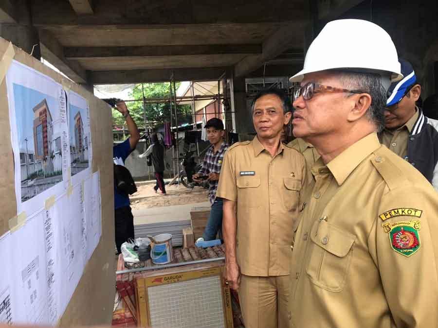 Jaang Kembali Tinjau Progres Pembangunan Gedung Kantor