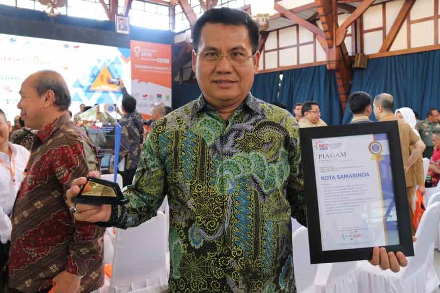 Kedua Kalinya Samarinda Raih Penghargaan Kota Cerdas