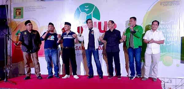 Papar Visi Misi Ala Stand Up, PPP Samarinda Janji Keluarkan Rekomendasi Secepatnya