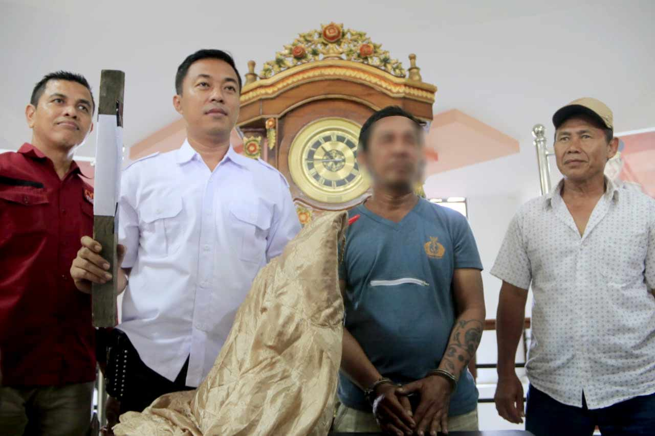 4 Hari Buron Pelaku Pemukulan di Masjid, Akhirnya diBekuk Polresta Samarinda