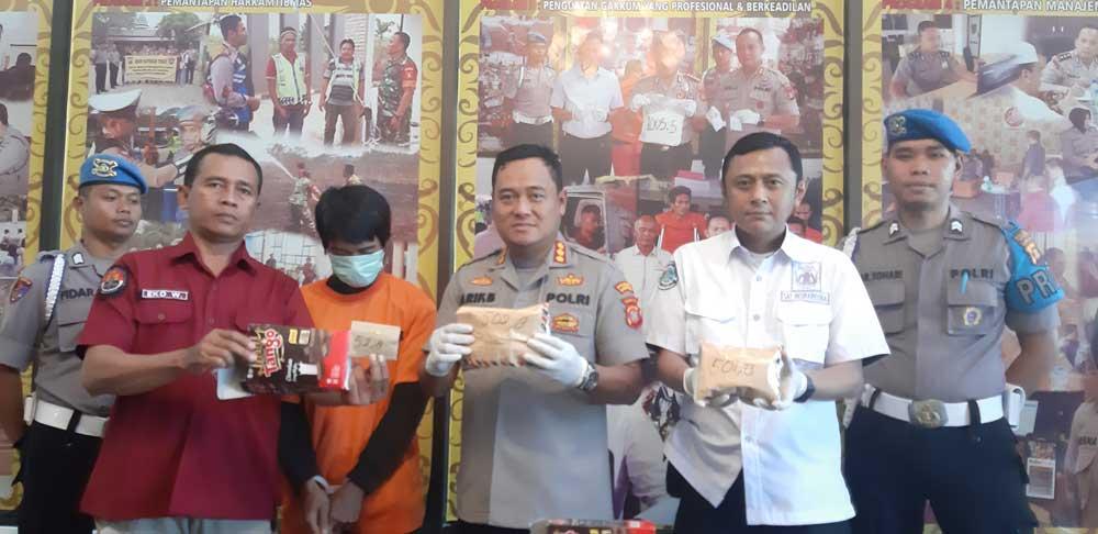 Kurir Sabu 2 Kg, Diamankan Polresta Samarinda