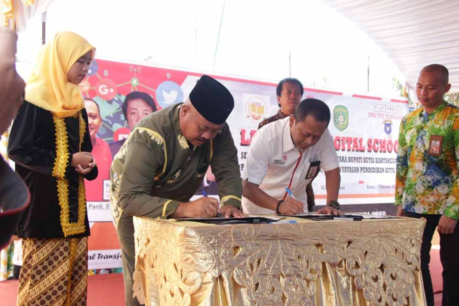 Keren, SMK YPK Tenggarong jadi Pelopor Digital School Kaltim
