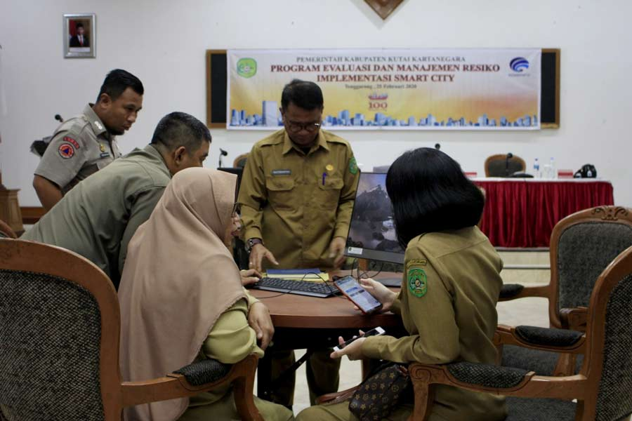 Dinas Kominfo Kukar Gelar Program Evaluasi dan Management Resiko Implementasi Smart City