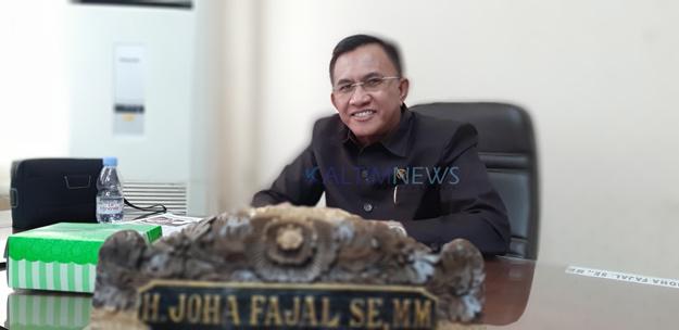 Joha Fajal Fraksi Nasdem DPRD Samarinda, siap menyisihkan gaji Terkait Covid-19.