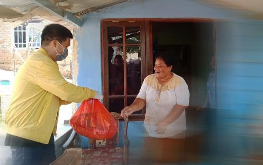 Anggota DPRD Kukar ini bagikan 3 Ribu Sembako kepada warga Terdampak Covid-19