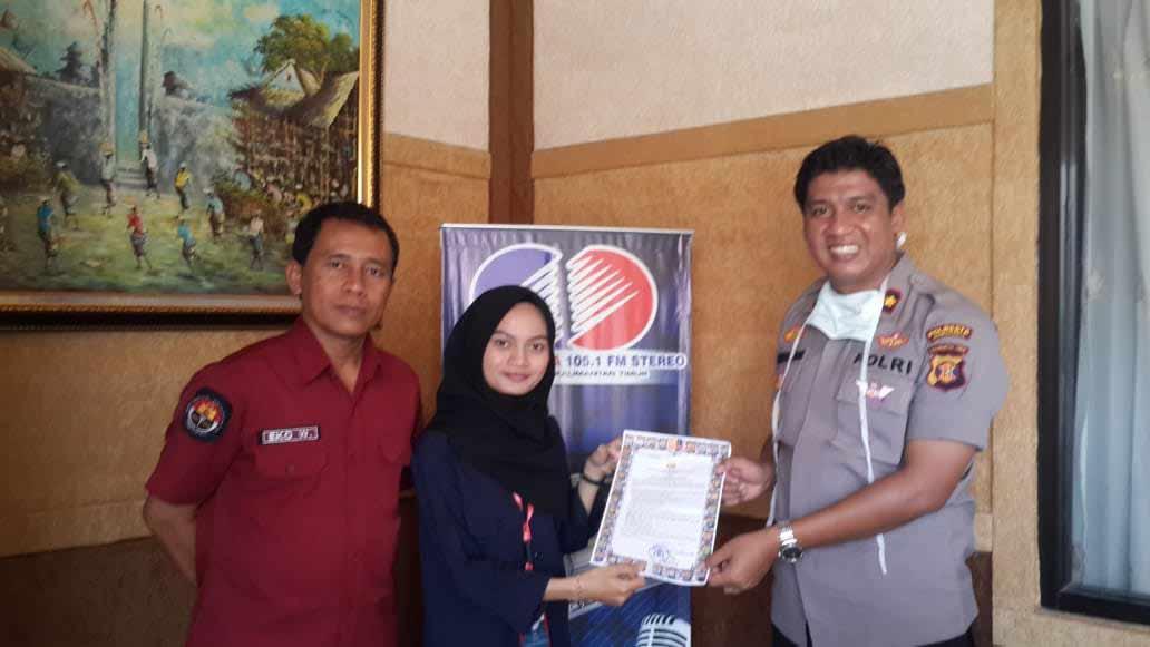 Himbau Masyarakat Samarinda tanggap Covid-19, Polresta Samarinda gelar Talk Show