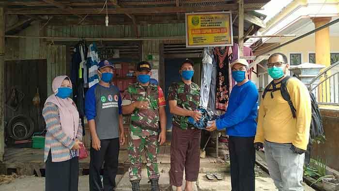 Desa Anggana Cetak 3 Ribu Masker Gratis Bagi Warganya