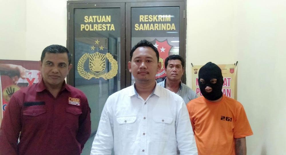 Pelaku Pencurian Rp 59 Juta Diringkus Polresta Samarinda