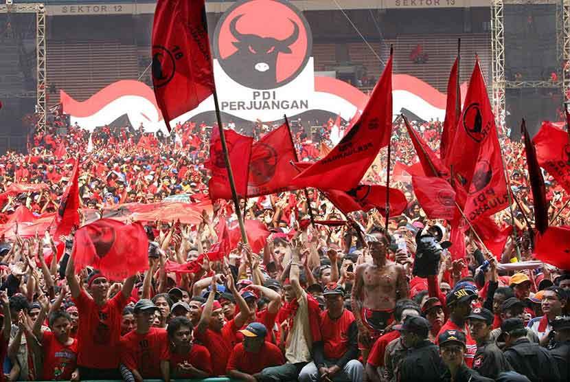 PDI Perjungan Kaltim Dukung Polri Usut Tuntas Kasus Pembakaran Bendera Partai