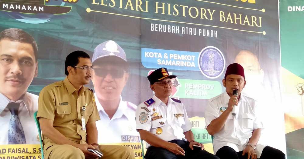Apri Gunawan, Tak Ingin Perahu Tambangan Samarinda Hanya Tinggal Sejarah